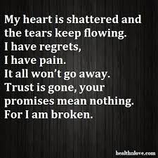 """SHATTERED INTO PIECES"""